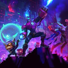 Grafika promująca Arcade w 2017 roku