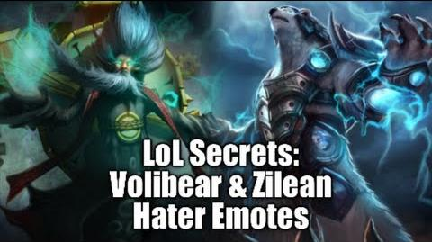 LoL Secrets Volibear & Zilean Hater Emotes Explanation In-Depth