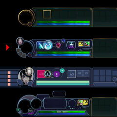 Aphelios HUD Concept 2 (by Riot Engineer Bryce 'The King of Rad' Mercado)