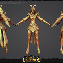 Lunar Goddess Diana Model 1 (by Riot Artists <a rel=