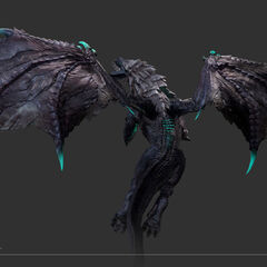 Elder Dragon Model 7 (by Riot Artist <a rel=