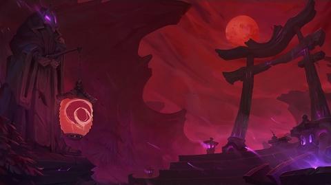 Krwawy Księżyc - muzyka z ekranu wyboru bohatera
