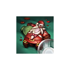 Santa Gragas Cookie