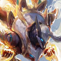 Mecha Kingdoms Sett Promo (by Riot Artist <a rel=