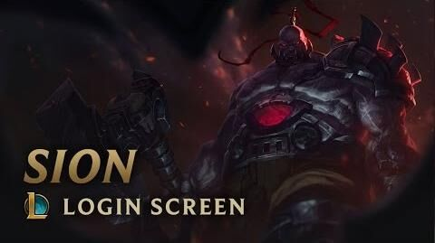 Sion, der untote Moloch - Login Screen