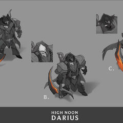 High Noon Darius Concept 3 (by Riot Artist <a href=