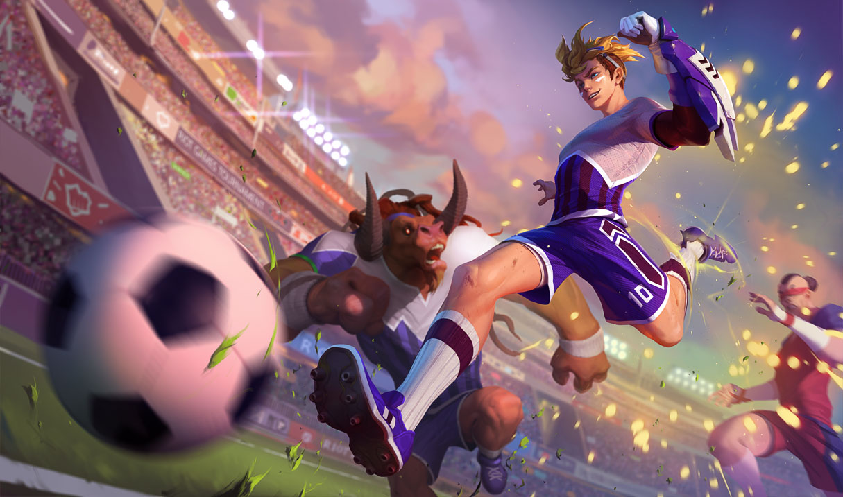 Image - Ezreal StrikerSkin.jpg   League of Legends Wiki   FANDOM ...