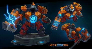 Sion Mecha-Zero- model