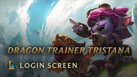 Tristana Treserka Smoków - ekran logowania