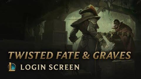 Graves and Twisted Fate - Login Screen