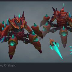 Giant Enemy Crabgot Update Model 2 (by Riot Artist <a rel=