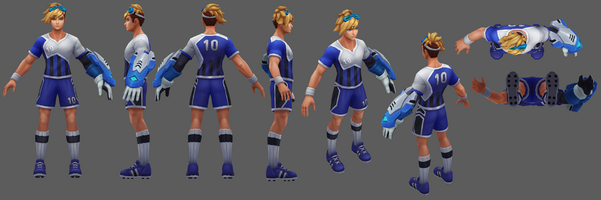Ezreal Update Stürmer- Model 01