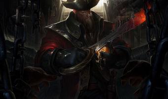 Gangplank CaptainSkin