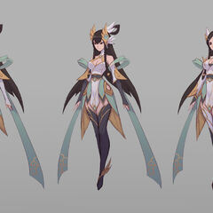 Divine Sword Irelia Concept 3 (by Riot Artist <a href=