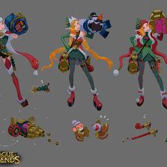 Ambitious Elf Jinx Concept 2 (by Riot Artist <a href=