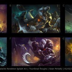 Galactic Renekton Splash Update Concept 1 (by Riot Artist <a rel=