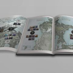 2014 Runeterra Map Concept 9 (by Riot Artist <a href=