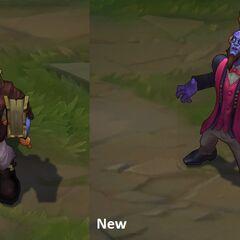 Porównanie starego i nowego modelu Profesora Ryze'a