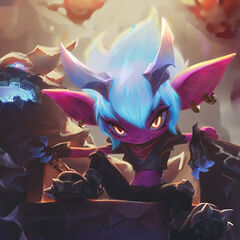 Little Demon Tristana Splash Concept 5 (by Riot Artist <a href=