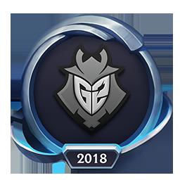 Worlds 2018 G2 Esports Emote
