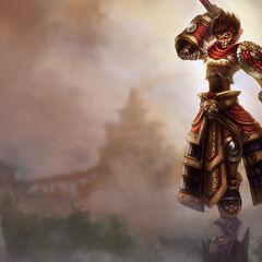 Pierwszy podstawowy portret Wukonga (w wykonaniu Kienana Lafferty)