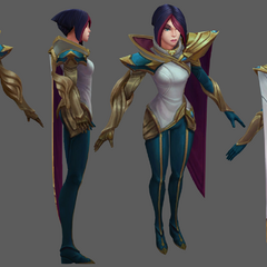 Fiora Update Model 5 (by Riot Artist <a href=