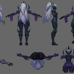 Nightblade Irelia Update Model 1
