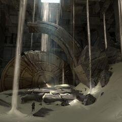 Sun Disk Ruins (by Riot Artist <a href=