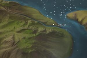 Vindor map