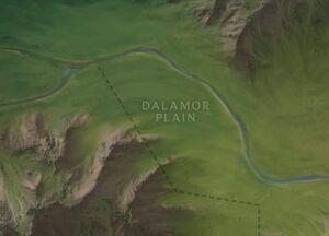 Dalamor Plain map