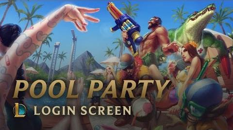 Poolparty - Login Screen
