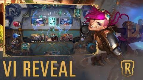 Vi Reveal New Champion - Legends of Runeterra