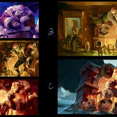 Santa Braum Splash Concept 1 (by Riot Artist <a href=