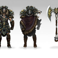 Woad King Darius Concept (by Riot Artist <a href=