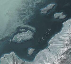 Ice Sea map