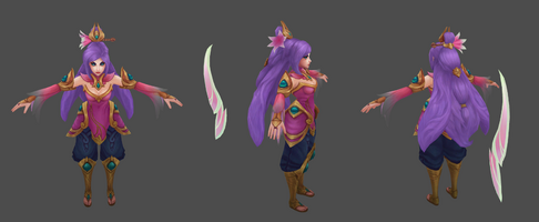 Irelia Update Lotusorden- model 01