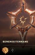 Normale Runenseite
