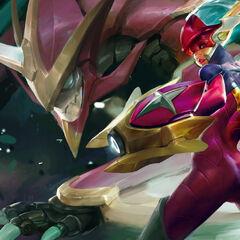 Super Galaxy Shyvana Splash Concept 2 (by Riot Artist <a href=