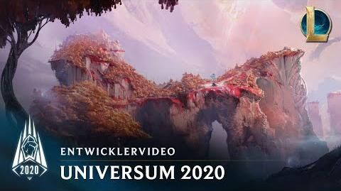 Universum im Jahr 2020 Entwicklervideo – League of Legends