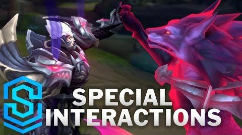God-King Darius Special Interactions