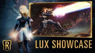 Lux Champion Showcase Gameplay - Legends of Runeterra