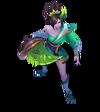 Riven Seelenblumen-Riven (Smaragd) M