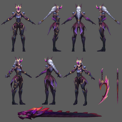Dragonslayer Diana Model