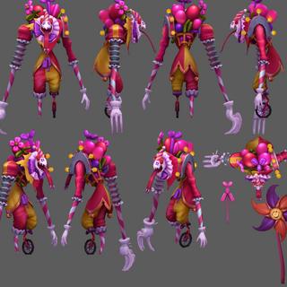 Surprise Party Fiddlesticks Update Model