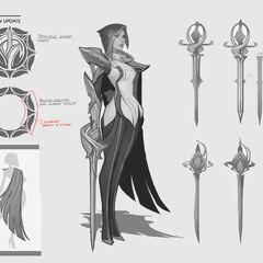 Fiora Update Concept 7 (by Riot Artist <a href=