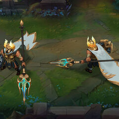 Perseus Pantheon Update Concept 3 (by Riot Artist <a rel=