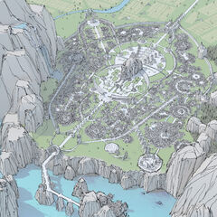 The Great City of Demacia Map 3 (by Riot Contracted Artist <a href=
