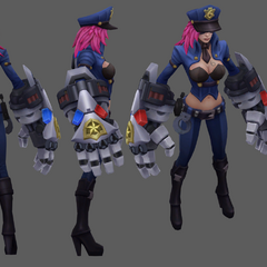 Officer Vi Model (by Riot Artist <a href=