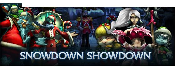 2009 Snowdown Showdown Banner