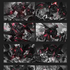 Lancer Rogue Blitzcrank Splash Concept 1 (by Riot Artist <a href=